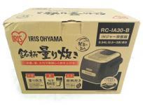 IRIS OHYAMA 炊飯器 RC-IA30-B IHジャー 3合 キッチン家電 炊飯器