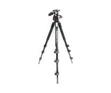 Manfrotto プロ三脚 4段 アルミ MT190XPRO4 トライポッド カメラ