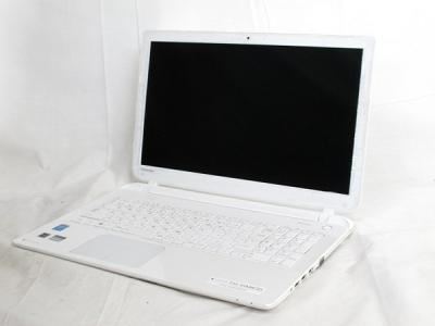 TOSHIBA dynabook T55/45MW3D PT55-45MSXW3D i3 1.9GHz 8GB HDD1TB Win8.1 64bit 15.6型 ノート リュクスホワイト