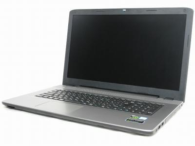 Diginnos raytrek VF-HGK i7 2.7GHz 16GB SSD250GB HDD1TB GTX950M Win10 Home 64Bit 17.3型 ノート シルバー系