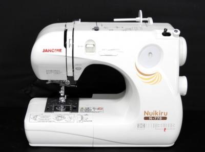ジャノメ N-778MODEL 661型 ミシン ヌイキル ロック機能付き