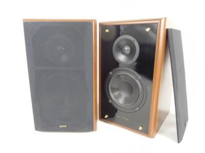 DENON デノン SC-E252 2WAY スピーカー ペア 音響 機材 木
