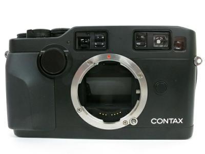 CONTAX G2 ブラック ボディ RTS-G1 記念キャップ付