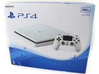 SONY ソニー PlayStation4 PS4 CUH-2000A 500GB ゲーム機 グレイシャー・ホワイト