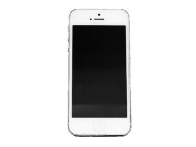 Apple iPhone 5 MD300J/A 32GB SoftBank ホワイト&シルバー