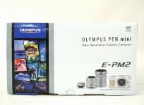 OLYMPUS オリンパス PEN mini E-PM2 ミラーレス一眼 カメラ ダブル ズーム キット