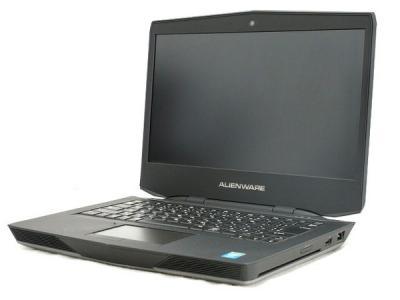 Dell alienware 14 i7 2.5GHz 8GB HDD500GB GTX765 Win8.1 64bit 14型 ノート ブラック系