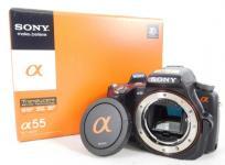 SONY α55 SLT-A55V デジタル 一眼 カメラ ボディ