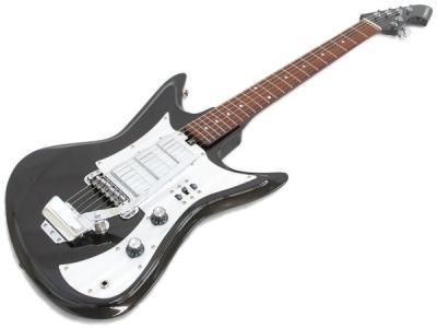 TEISCO K-56 ビンテージクリーム 復刻版 テスコ ジャパンビザール エレキ ギター ケース付