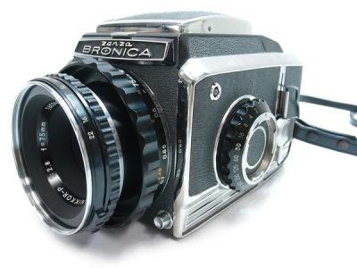 ゼンザブロニカ S2 P 75mm f2.8 レンズ セット 中判 フィルム カメラ