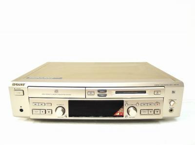 SONY MXD-D3 CD MDデッキ 音響 機材 音楽 再生機器