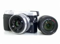 Panasonic パナソニック LUMIX DMC-GX7C レンズキット LUMIX G VARIO 14-45mm/F3.5-5.6 ズームレンズ付 シルバー