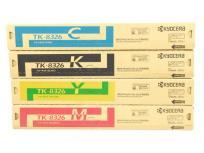 京セラ 純正 インク トナー カートリッジ TK-8326 4色 M Y K C