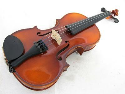 SUZUKI スズキ 230 1/2 Anno バイオリン 弓 肩当て付 ヴァイオリン