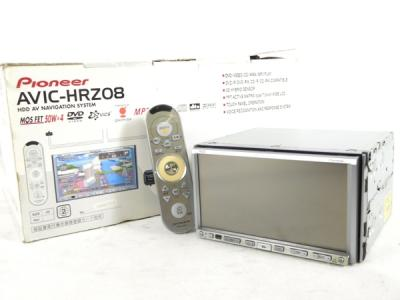 Pioneer パイオニア carrozzeria 楽ナビ AVIC-HRZ08 HDDナビ 7型