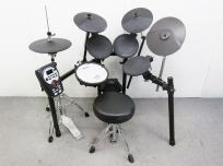 Roland TD-11K 電子ドラム Pearl製ハイハットスタンド・市販キックペダル付