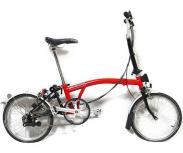 Brompton M6L RED/BLK ブロンプトン 折りたたみ自転車