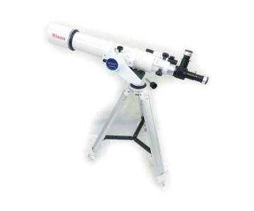良品 Vixen ED103S 経緯台 PORTA II 三脚 付 望遠鏡 セット 天体観測