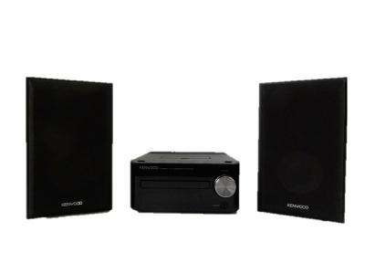 KENWOOD ケンウッド Kシリーズ コンパクトHi-Fiシステム K-521-B  コンポ CD FM/AM ブラック