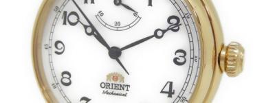 オリエント メンズ 腕時計 SDD03001W0 ステンレス 機械式 自動巻き 裏スケ ゴールド パワーリザーブ 白文字盤 革ベルト