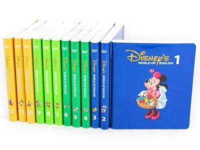ディズニー ワールドオブイングリッシュ ストレートプレイ DVD 12枚 教材 DWE こども英語