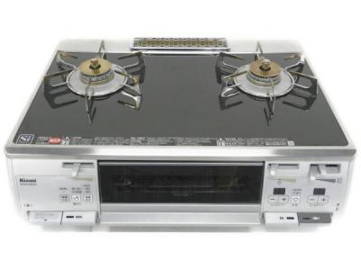 Rinnai リンナイ RTS62WKR-L RKGSV681E9L ガステーブル(都市ガス13A用)(左強火力) オリジナル ブラック/シルバー