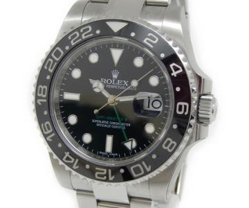 ROLEX ロレックス GMTマスターII 116710LN ランダム番 888 メンズ 腕時計 自動巻き ステンレス 黒ベゼル