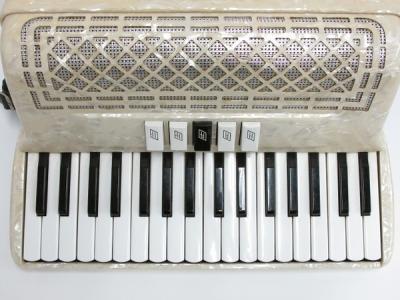 SERENELLINI セレネリー 34鍵盤 アコーディオン 楽器 ケース付