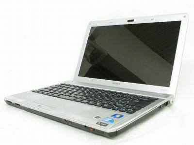 SONY VAIO Sシリーズ VPCS149FJ ノートパソコン PC i3-380M 13.3インチ HDD500GB