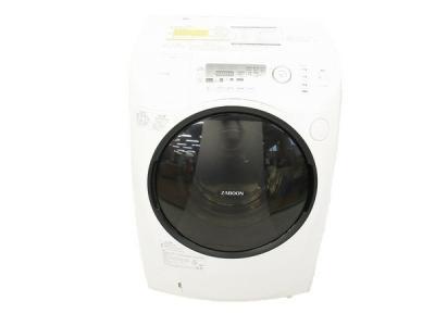 TOSHIBA 東芝 ZABOON TW-G540L(W) 洗濯機 ドラム式 9kg 左開き ピュアホワイト