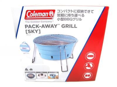 Coleman バックアウェイグリル スカイ 2000022308 BBQ 小型