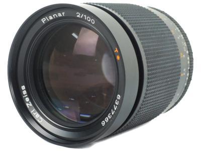 CONTAX コンタックス carl zeiss Planar 2/100 T * レンズ 一眼レフ カメラ