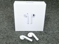 Apple アップル Airpods MMEF2J/A ワイヤレス イヤホン ヘッドホン