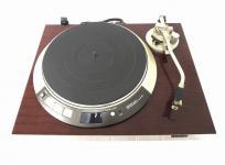 訳有 DENON DP-60L レコードプレイヤー オートリフト 音声出力確認済み