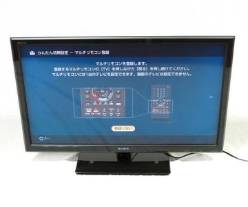 SONY BRAVIA 液晶 TV KDL-40W5 40V型 リモ 付 TV・オーディオ・カメラ テレビ 液晶テレビ大型
