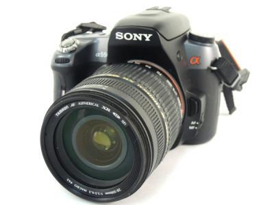 SONY DSLR-A550 一眼レフ カメラ ボディ レンズ セット