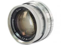 Leica summicron 5cm 1:2 沈胴式 ズミクロン ライカ