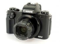 Cannon キヤノン デジタルカメラ PowerShot G5 X ブラック コンデジ デジカメ