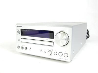 ONKYO オンキョー CR-D1(S) CD/FMチューナーアンプ シルバー