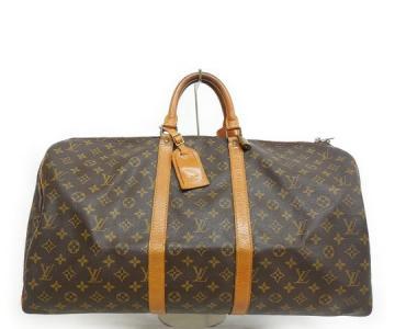 LOUIS VUITTON ルイヴィトン モノグラム キーポル55 M41424 旅行バッグ ボストンバッグ ハンドバッグ