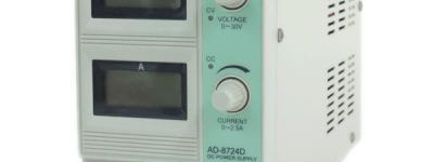 AND AD-8724D 電子 計測 機器 直流 安定化 電源 機器
