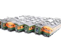 TOMIX 92366/92368 国鉄 165系 急行電車 基本/増結 7両セット Nゲージ 鉄道模型の買取