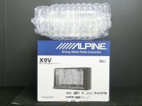 ALPINE アルパイン X9V 9型ワイドWXGA LED液晶 メモリーカーナビ