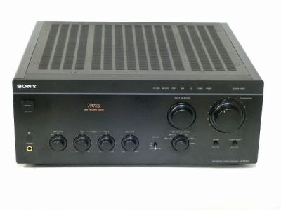 SONY TA-FA7ES プリメインアンプ ブラック 音響 オーディオ機器