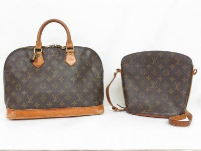 お買い得 ルイヴィトン 2点セット 品 アルマ M51130 ドルーオ M51290 モノグラム バッグ