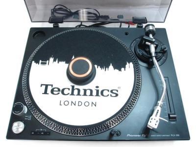 Pioneer PLX-500 ダイレクト ドライブ ターンテーブル DJ プレイ