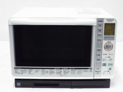 HITACHI 日立 ヘルシーシェフ MRO-NS7(W) 電子 オーブンレンジ 22L パールホワイト