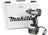 makita TD138DRFXW 充電式 インパクトドライバ 14.4V 3.0Ah バッテリ2個付き