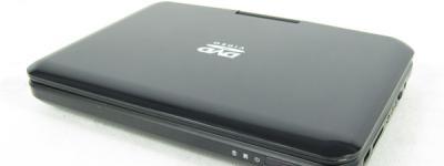 AVOX ポータブルDVD ADP-1001HK プレーヤー リモコン付
