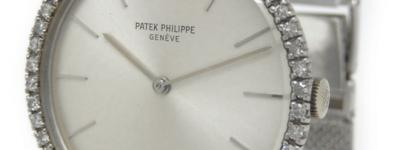 パテックフィリップ PATEK PHILIPPE カラトラバ 手巻き K18 ダイヤ